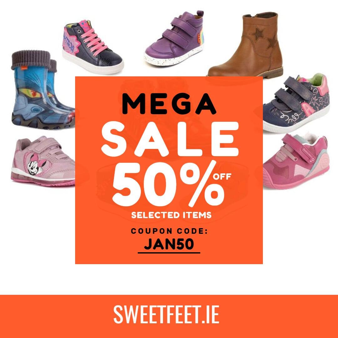 50% Mega Sale