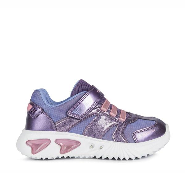 Assister Purple Pink Lights Geox