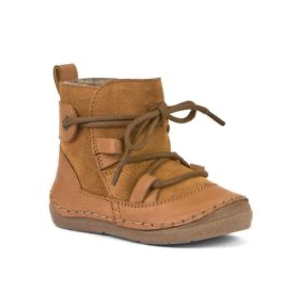 Cognac Leather Boot Froddo