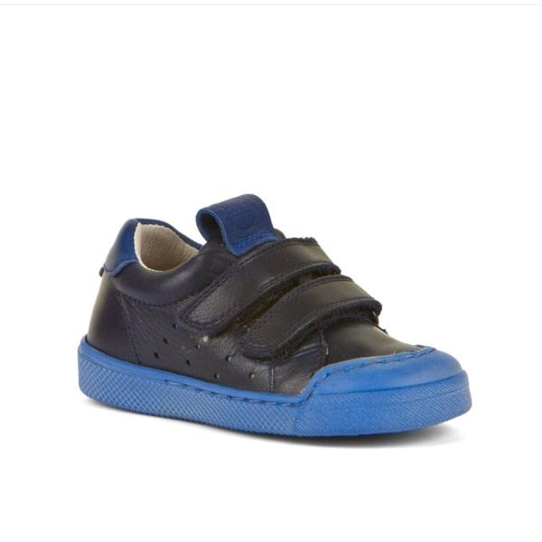 Dark Blue Leather Shoe Froodo