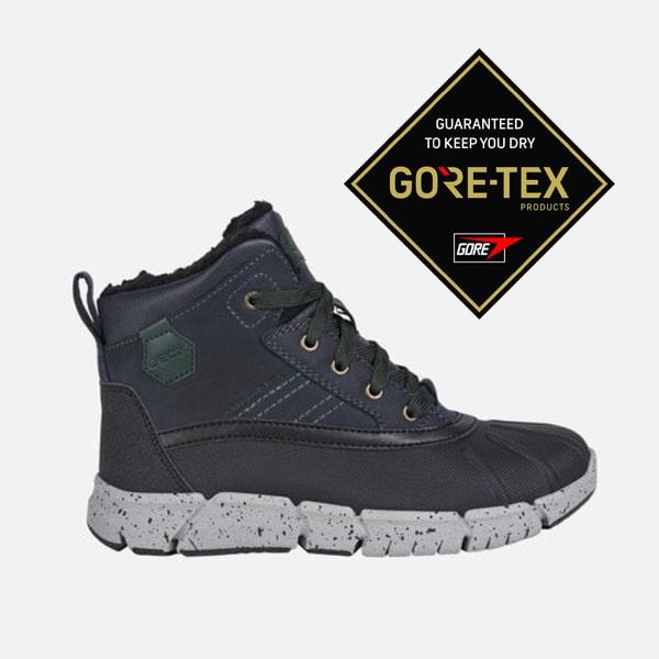 J Flexyper Navy/Green Geox