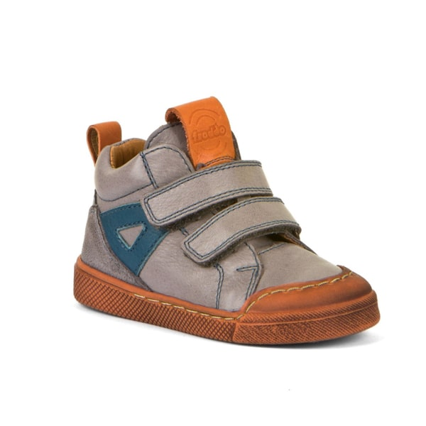 Grey Leather Boot Froodo