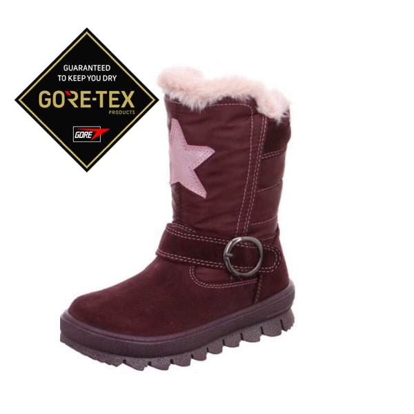 Lilac Fur Lined Boot Superfit