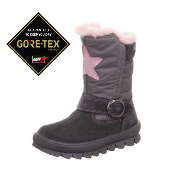 Fur Lined Grey Boot Superfit