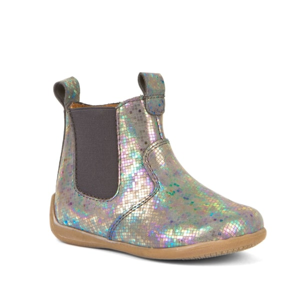 Silver Leather Chelsea Boot Froddo