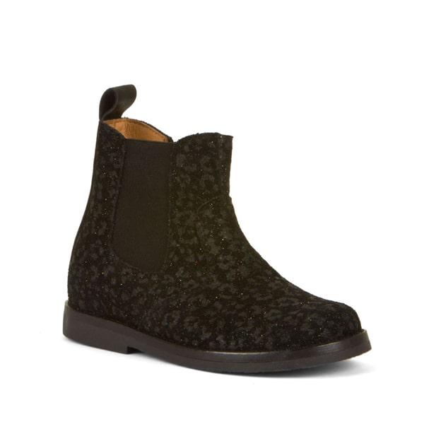 Black Leather Chelsea Boot Froddo