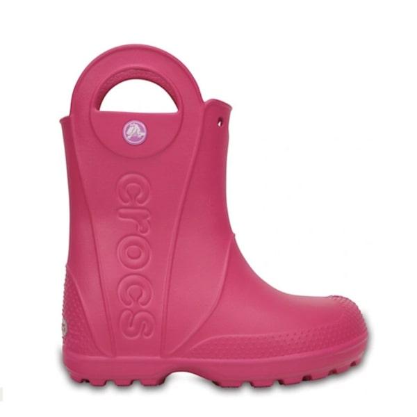 Pink Wellies Crocs