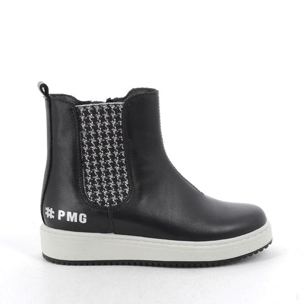 Black Leather Boot Primigi