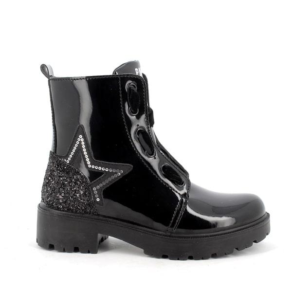 Vern Black Patent Boot Primigi