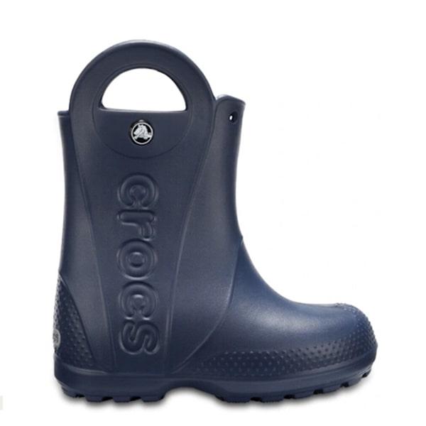 Navy Wellies Crocs