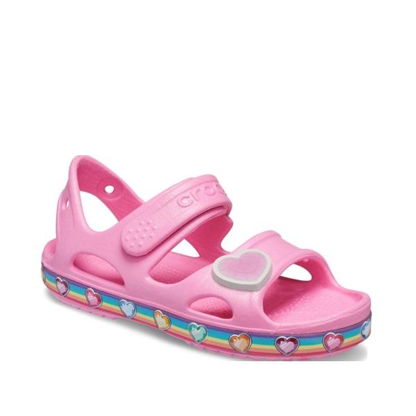 Pink Hearts Croc