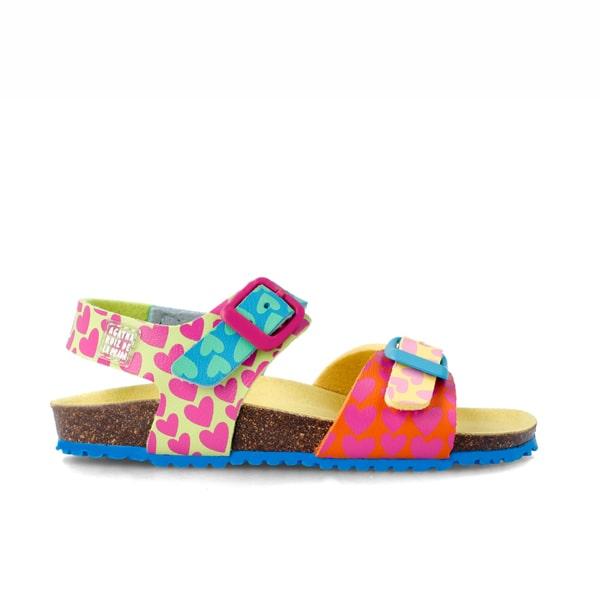 Multi Bright Sandal Agatha