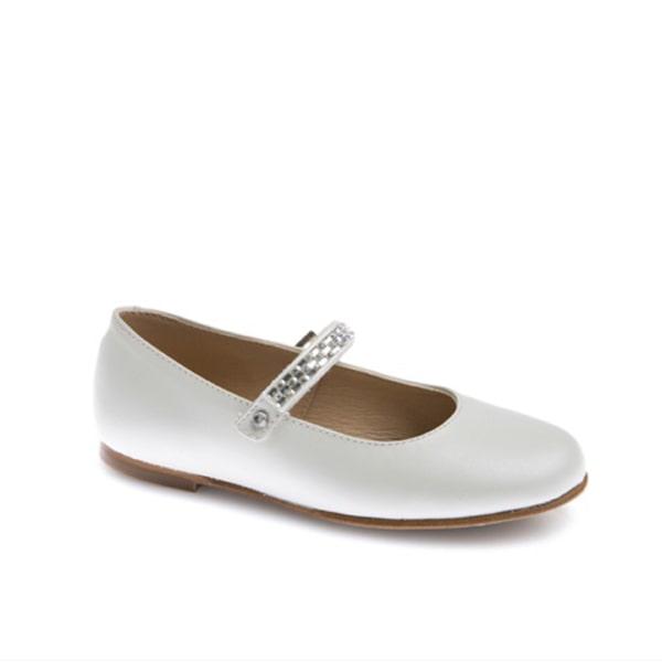 Cream Shoe Glitter Strap Pablosky