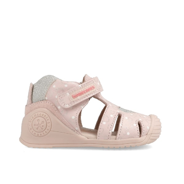 Soft Pink Closed Toe Biomechanics