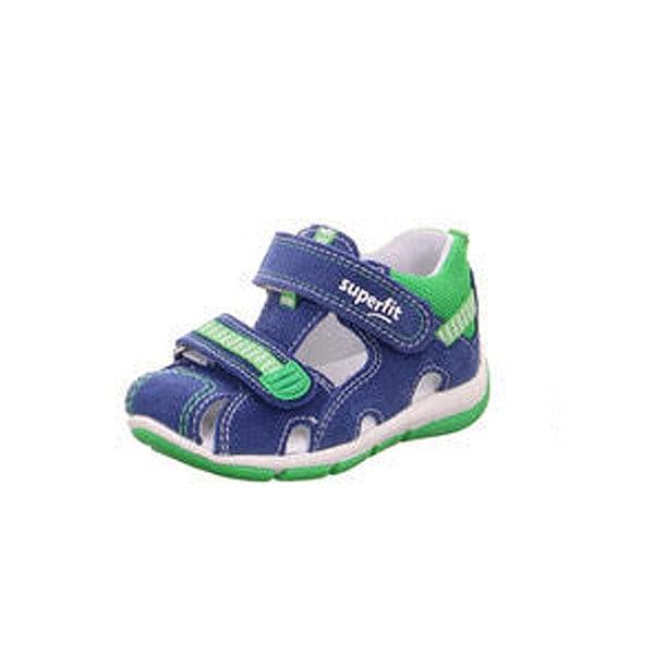 Closed Toe Royal Blue/Green Superfit