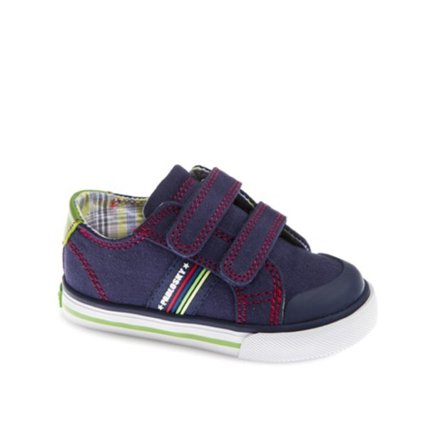 Boys Canvas Navy Pablosky