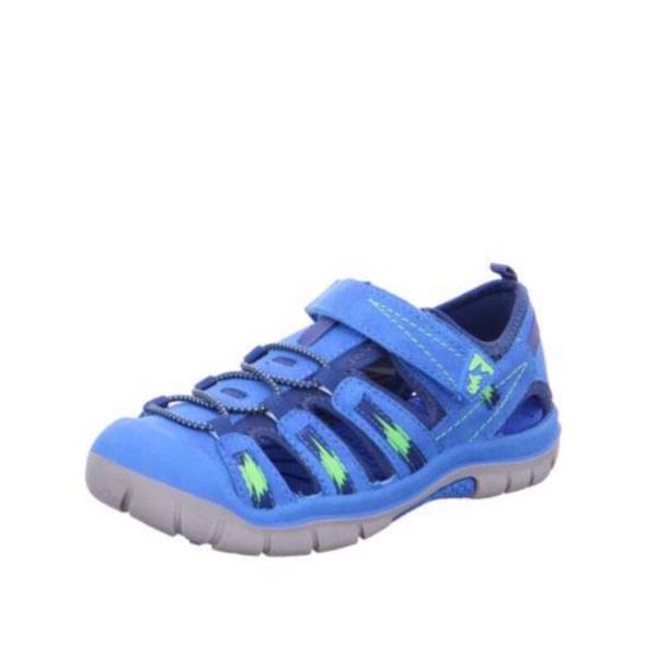 Pete Royal Blue Closed Toe Sandal