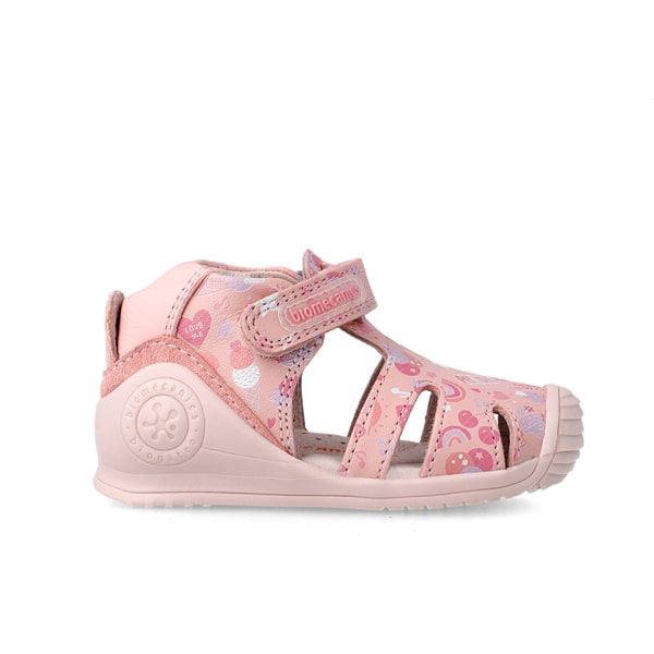 Pink Closed Toe Sandal Biomechanics