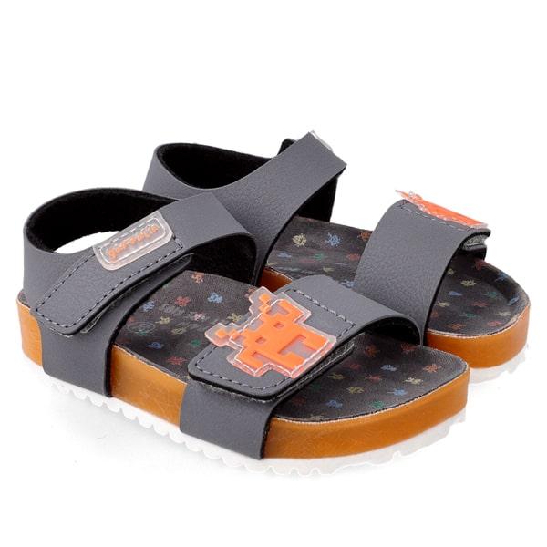 Grey Orange Sandal Garvalin