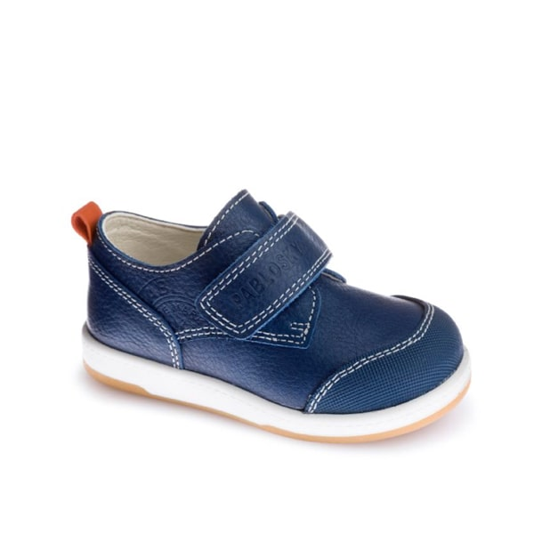Boys Blue Leather Pablosky