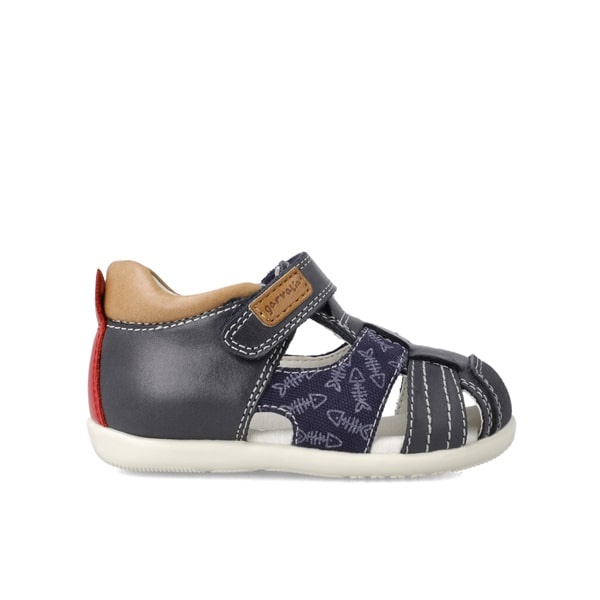 Closed Toe Navy Garvalin