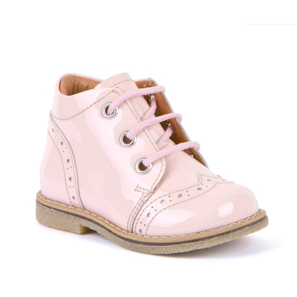 Pink Patent Lace-Up Boot Froddo