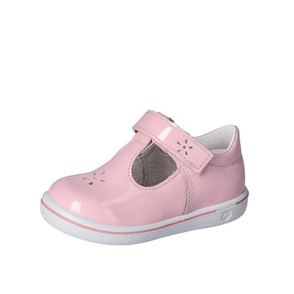 Winny T Bar Pink Patent Ricosta
