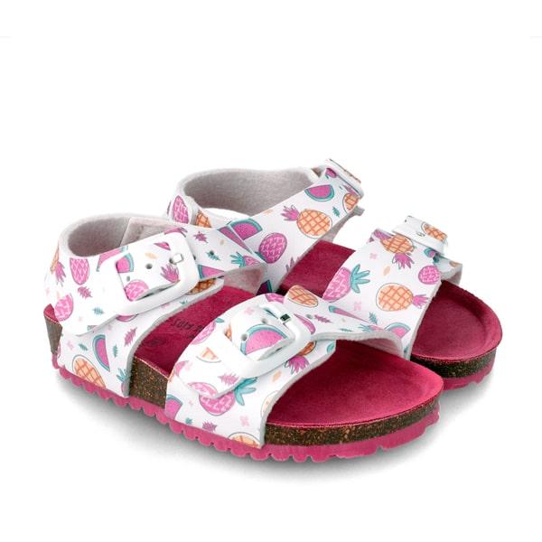 White Multi Sandal Garvalin