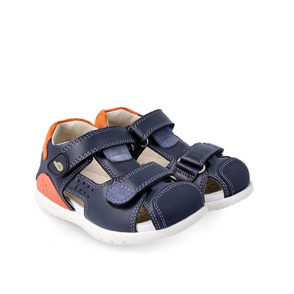 Navy Orange Sandal Biomecanics