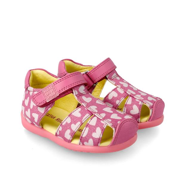 Pink Hearts Agatha
