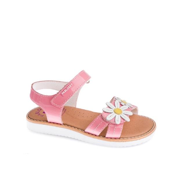 Pink Flower Sandal Pablosky