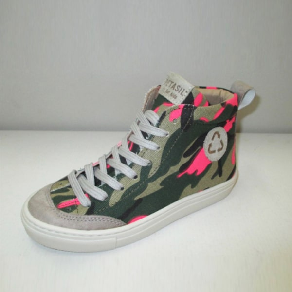 Riley High Top Camouflage Petasil