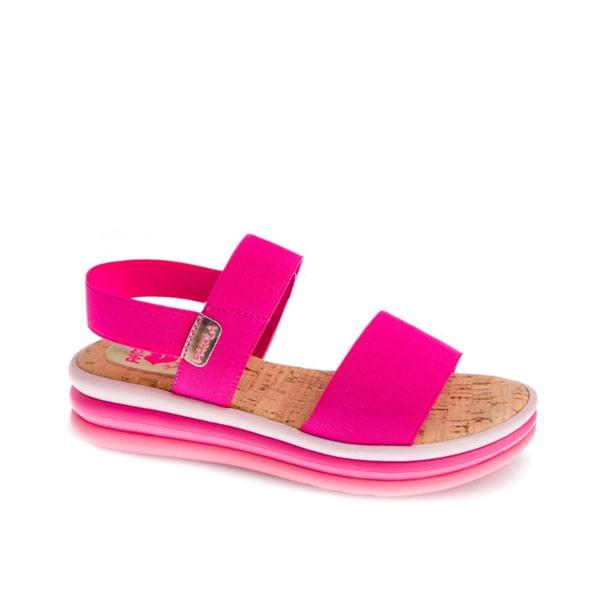 Elastic Pink Sandal Pablosky