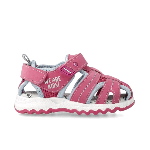 Pink Closed Toe Sandal Garvalin