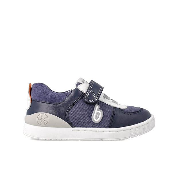 Navy Casual Shoe Biomecanics