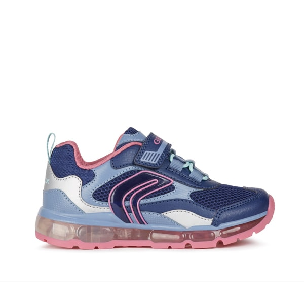 J Android Navy Pink Lights Geox