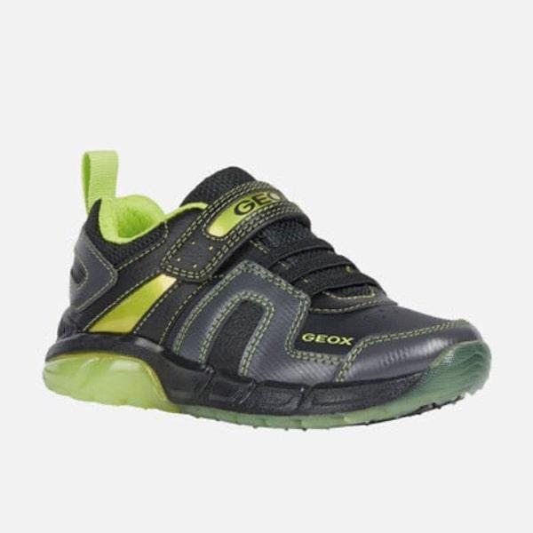 Black/Lime Geox