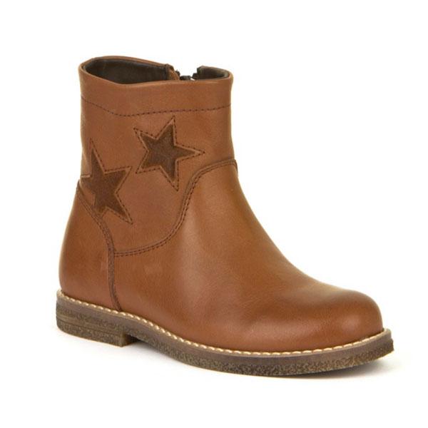 Girls Cognac Boot Froddo