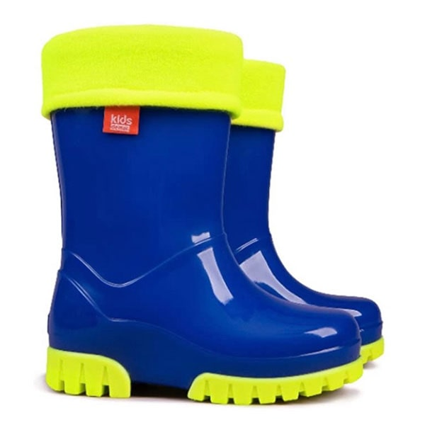 Blue Yellow Wellies